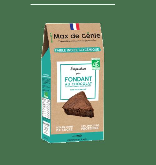 FONDANT CHOCOLAT MAX DE GENIE