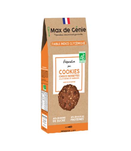 Les cookies choco noisettes IG Bas de MAX DE GENIE