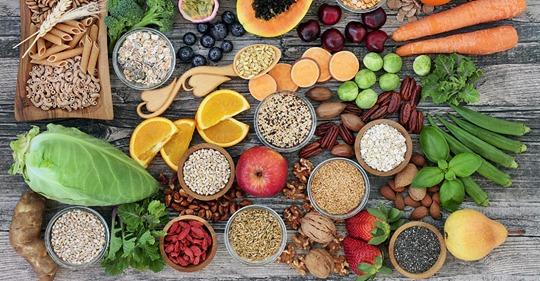 La nutrition, les super aliments pour l'alimentation IG. Al'Origin.