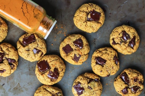 Biscuits beurre de cajou et curcuma
