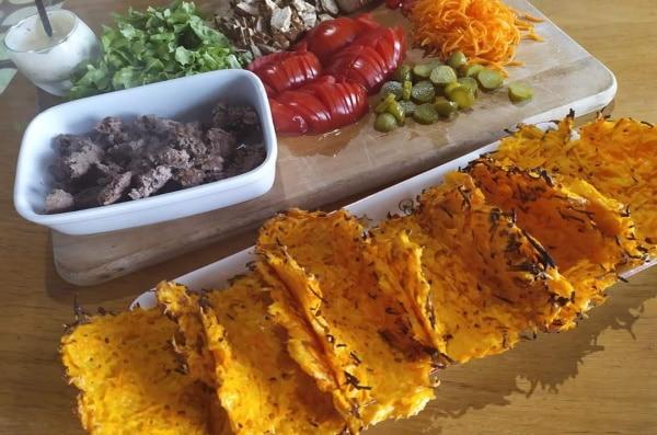 Tacos de carottes râpées