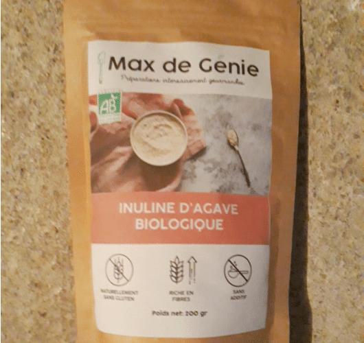 INULINE D'AGAVE BIO en poudre (200gr)