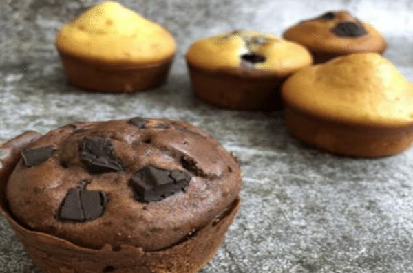 Le Muffin Surprise - Farine Fiberpasta IG 29 - vendu chez al-origin.fr