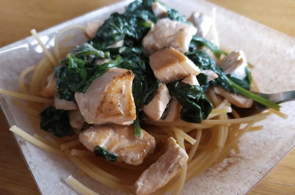 Les Pâtes Au Saumon - Spaghettis Fiberpasta IG 23 - Vendu chez al-origin.fr