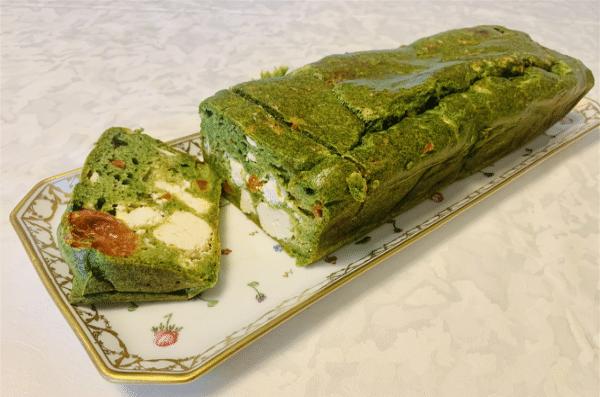 Le Cake Aux Epinards - Farine Fiberpasta IG 29 - Vendu chez al-origin.fr