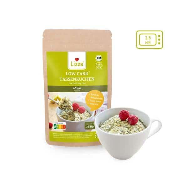 Le Mug cake graines de pavot - Faible teneur en glucides. Vendu chez Al'Origin.fr