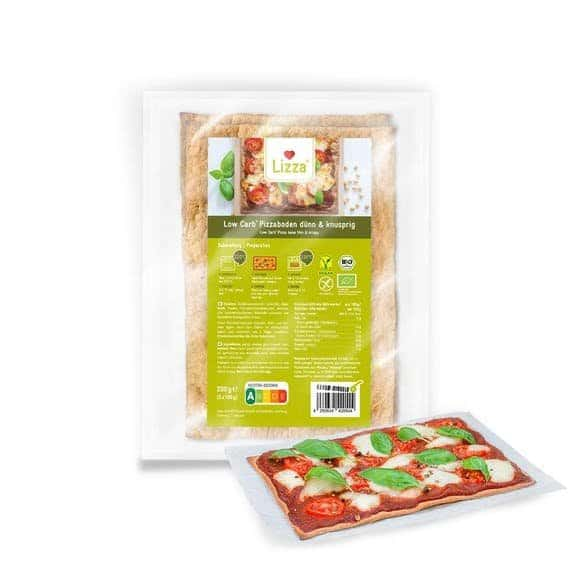 BASES A PIZZA - Faible en glucides - vendues par Al'Origin