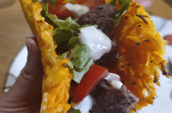 Le Tacos Surprise - Farine Fiberpasta IG 29 - Vendu chez al-origin.fr