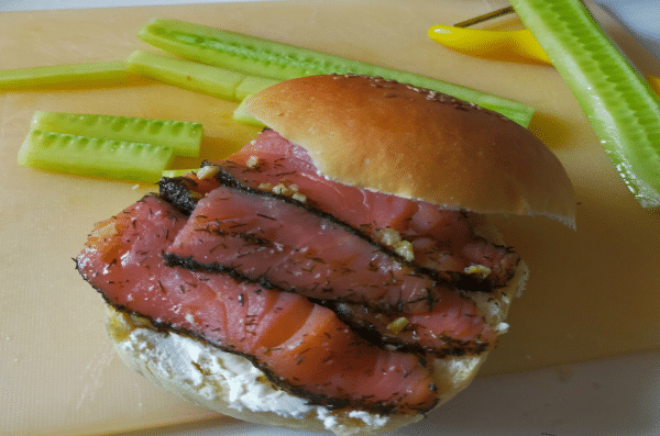 Le Hamburger Bun - Farine Fiberpasta IG 29 - Vendu chez al-origin.fr